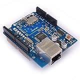 Kuman K15 Ethernet Shield W5100 Micro-sd Card Slot for Arduino 2009 UNO Mega 1280 Mega 2560 Nano Duemilanove
