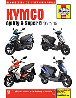 download kymco agility 125 scooter service repair workshop manual
