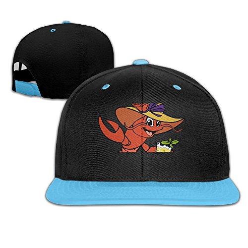 Hip Hop Baseball Caps Cute Crawfish Drink Trucker Flat Hats For Boy Girl by Oopp Jfhg