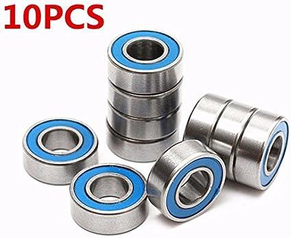 10pcs For Traxxas Slash Rustler Stampede Wheel MR115 2RS 5x11x4mm Ball Bearings Bearing JF-XUAN Needle Roller Bearings