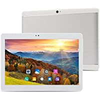 ibowin M130 10.1Inch tablet PC 1280x800 IPS Resolution MTK Quad core CPU Octa core GPU 2G RAM 16G ROM 3G Cellular PC Android 6.0 WIFi Bluetooth AGPS (Silver)