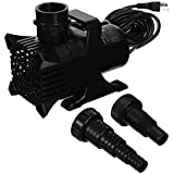Algreen Products MaxFlo 9000 to 2500 GPH Pond and Waterfall Pump for Gardening