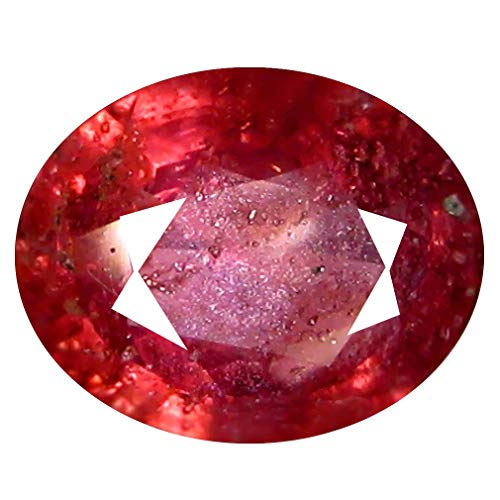 1.31 ct OVAL CUT (8 x 6 mm) 100% NATURAL GENUINE UNHEATED UNTREATED CEYLON PINK SAPPHIRE LOOSE GEMSTONE