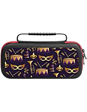 Classic Game Storage Case for NS and Accessories Carnival Pattern 3