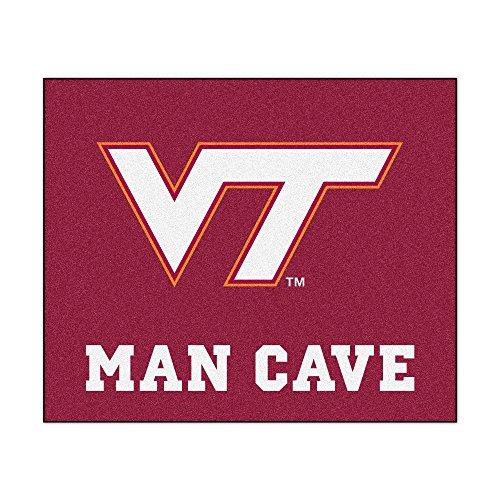 (FANMATS 14714 Virginia Tech Nylon Universal Man Cave Tailgater Rug)