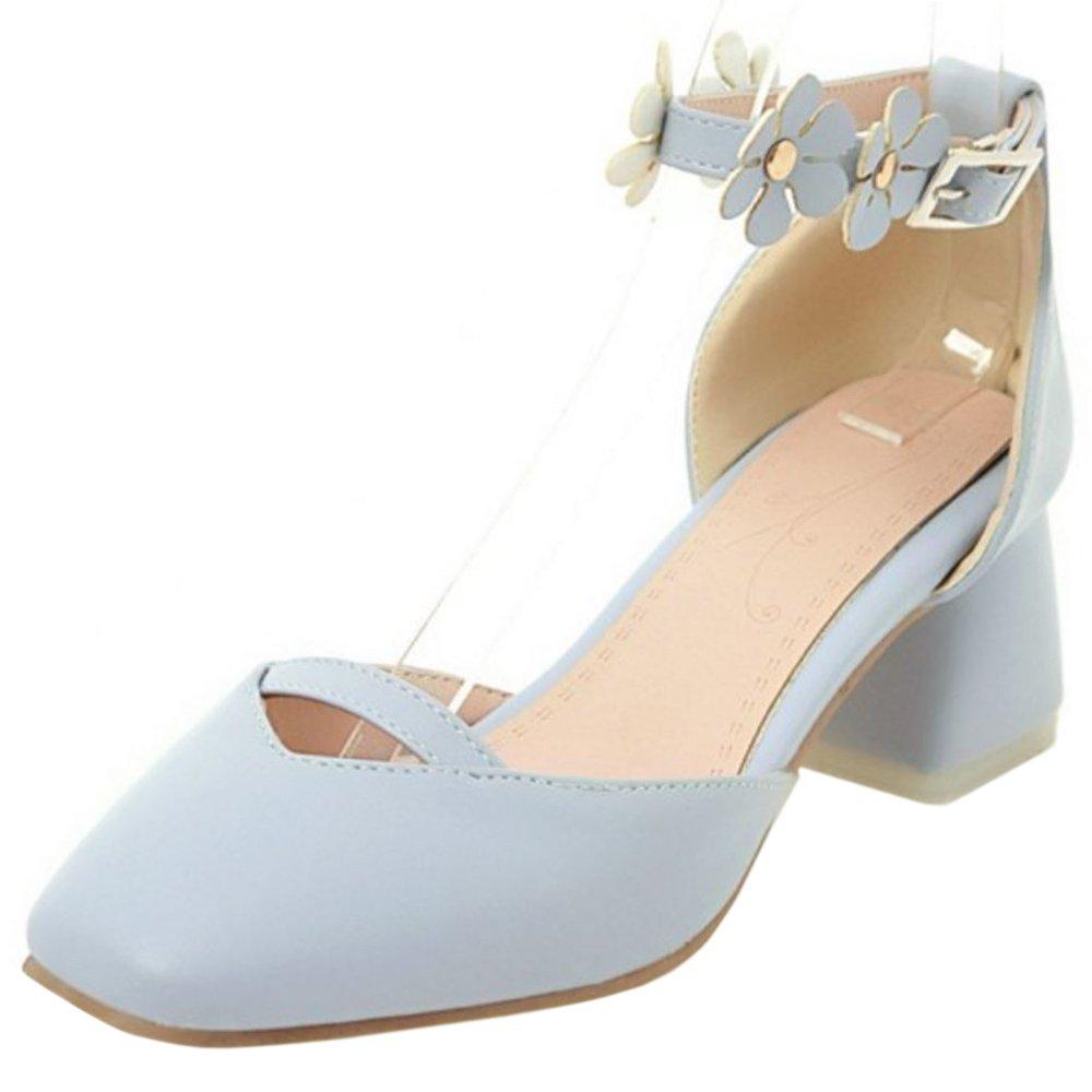 Zanpa 1#blue B000LSXRV0 Femmes Doux Sandales with Fleur Fleur 1#blue 8a7388b - jessicalock.space