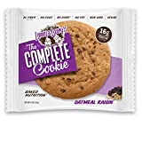 Lenny & Larry's The Vegan Complete Cookie Oatmeal Raisin - 12 Cookies