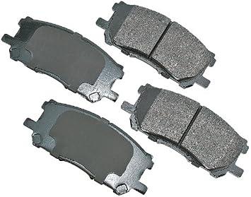 Disc Brake Pad Set-ProACT Ultra Premium Ceramic Pads Front Akebono ACT1005