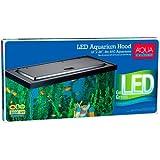 Aqua Culture LED Aquarium Hood for 20/55 Gallon Aquariums - Tetra