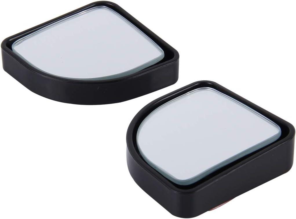 Xsplendor LS -015 2 PCS Car Blind Spot Rear View Wide Angle Mirror Black Diameter: 5cm Color : Black