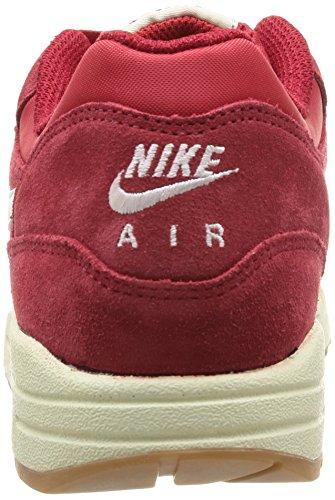Uomo Nike Air Max 1 Scarpe Da Corsa Essenziali - 537.383 611 Palestra Rosso / Vela / Nero / Nero