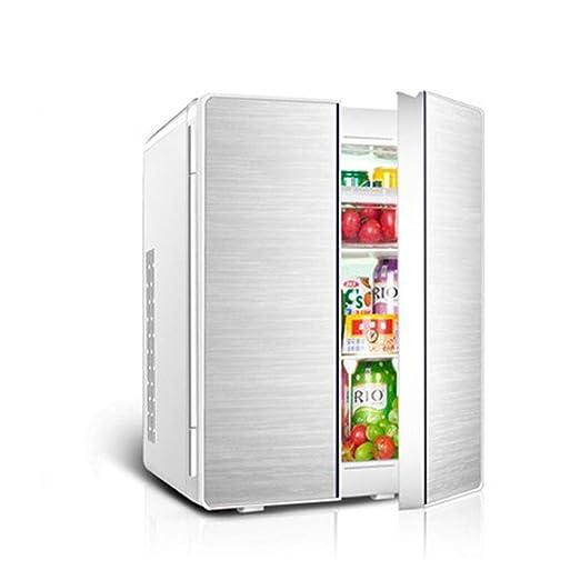 YXYNB Refrigerador para automóvil de Doble Puerta 25l Congelador ...