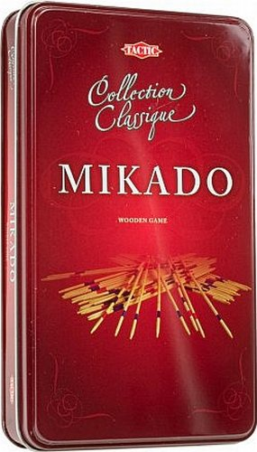Mikado - Wood Tactic Games UK 14010 Family Games Games_and_Puzzles children wooden value favourite quality tin