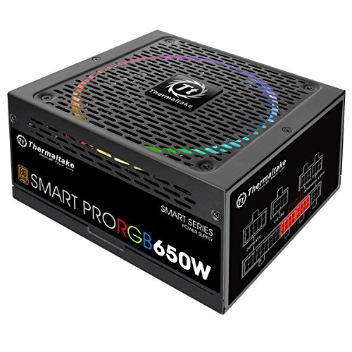 Fonte Thermaltake 650w Smart Pro Full Modular 80 Plus Ps-spr-0650fpcbus-r