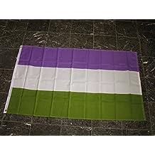 3X5 Genderqueer Flag Gay Lesbian Glbt Transgender Flag Poly House Banner