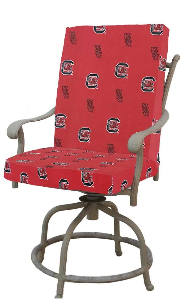 College Covers South Carolina Gamecocks 2pc Chair Cushion