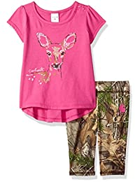 Carhartt Baby-Girls Baby Girls Girls 2 Piece Set