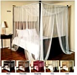 Generic r Ce Bed Canopy Color:Random t Large Be Airy Mosquito Net squito Net B Four-Poster or Mount L Ceiling Mount or Ceil Large Bedroom Poster or