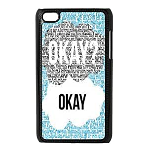 John Green Book Okay The Fault in Our Stars Phone Case Fit for iPod Touch 4 Cas AM674633