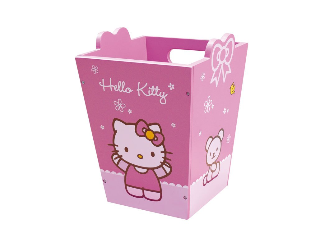 Jemini 711,494 - Bin timber Hello Kitty design 711494