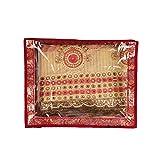 Glitter Collection TM Saree Bag Good quality saree bag for keeping apx 10 sarees SARBOX05