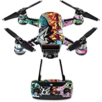 Skin for DJI Spark Mini Drone Combo - Graffiti Wild Styles| MightySkins Protective, Durable, and Unique Vinyl Decal wrap cover | Easy To Apply, Remove, and Change Styles | Made in the USA