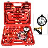 8MILELAKE Pro Oil Fuel Injection Pressure Tester Kit 0-140 PSI System