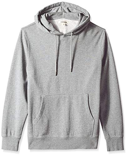 Goodthreads Men's Pullover Fleece Hoodie, Grey Heather, X-Large