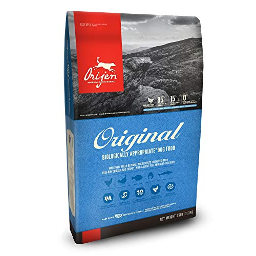 ORIJEN Dry Dog Food, Original, Biologically Appropriate & Grain Free (Best Real Food For Dogs)