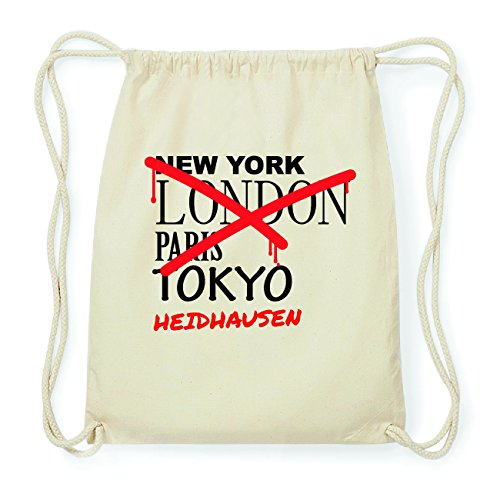 JOllify HEIDHAUSEN Hipster Turnbeutel Tasche Rucksack aus Baumwolle - Farbe: natur Design: Grafitti BuOj5Clm