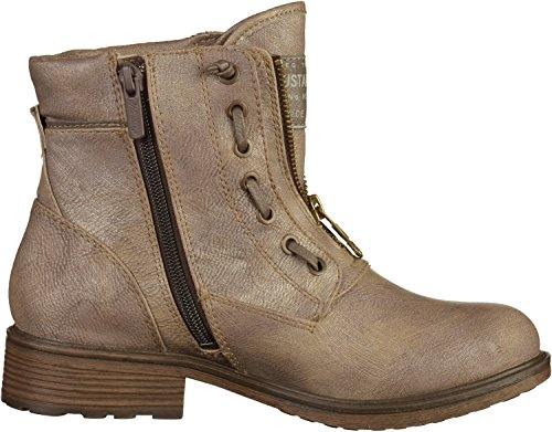 Bottes Mustang 258 605 Femme Gris 1264 wxxZqzT