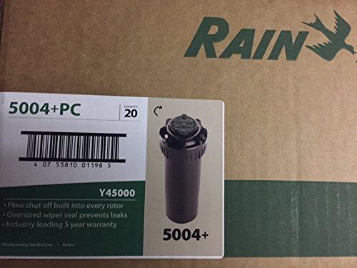 - Rain Bird 5004-PLPC 4 in. Pop-Up Partial/Full Circle Adjustable Arc Rotor (20 PACK)