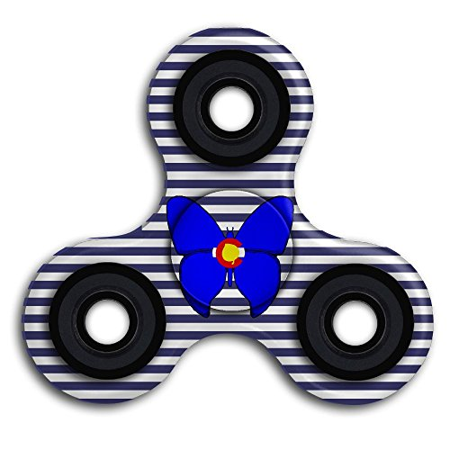 Price comparison product image Ultra Durable Long Smooth Fast Spinning Hand Spinner Triangle Game Toys For Kids & Adults Sensory Anxiety And Stress Relief