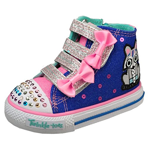 Skechers Kids Twinkle Toes Heart and Sole Light Up Sneaker Little Kid//Big Kid//Toddler Skechers Kids Footwear 10405L