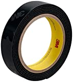 3M High Temperature Hook Fastener Tape SJ60H Black, 1 in x 25 yd