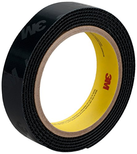 3M High Temperature Hook Fastener Tape SJ60H White, 1 in x 25 yd