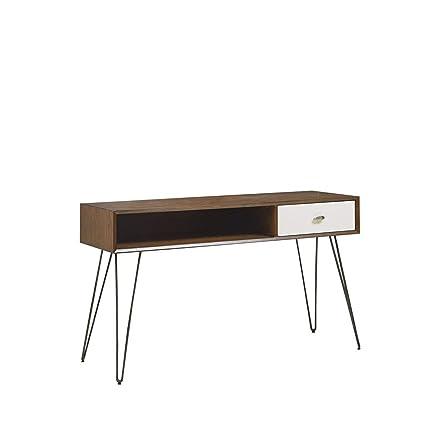 La Mia Consolle.Amazon Com Ink Ivy Ii120 0306 Solid Mia Console Table 48 W