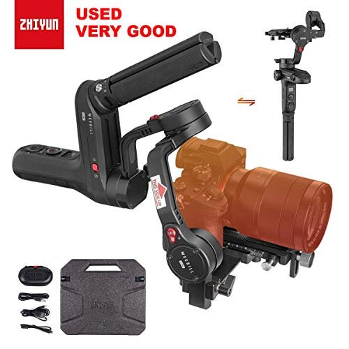 Zhiyun Used WEEBILL LAB 3-Axis Gimbal Stabilizer for DSLR & Mirrorless Cameras,Sony A6300 A6500 A7 GH3/4/5, Wireless Image Transmission, ViaTouch Control (Standard Package 2019 New) (Best Mirrorless Camera For Travel 2019)