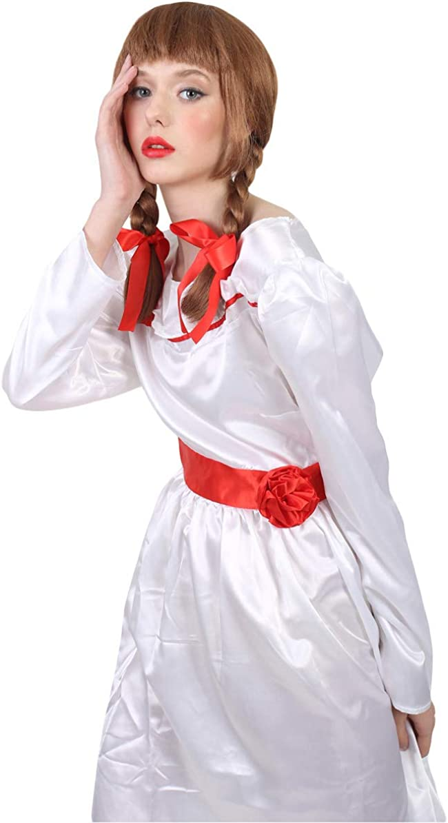 Adult Womens Annabella Cosplay White Costume Small HC-314