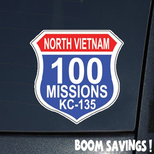 (Air Force USAF 100 Missions North Vietnam KC 135 6