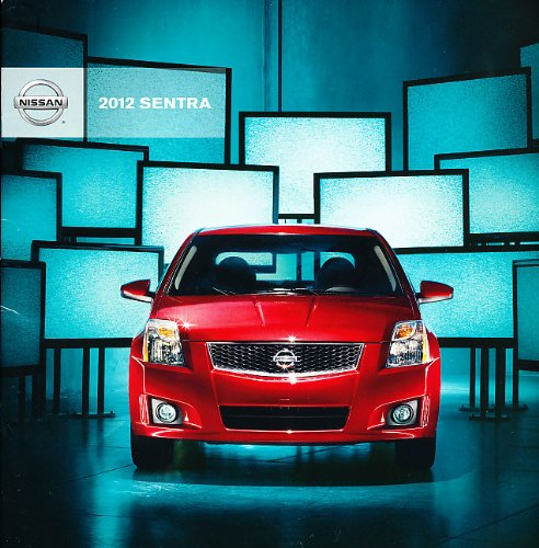 2012 Nissan Sentra 28-page Dealer Sales Brochure Catalog