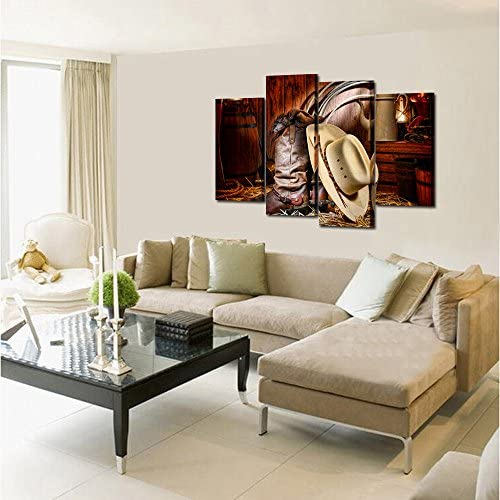 home, kitchen, wall art,  posters, prints 3 image Kreative Arts - 4 Pieces Canvas Prints Wall Art promotion