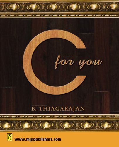 C for You (Volume 1) by MJP PUBLISHERS