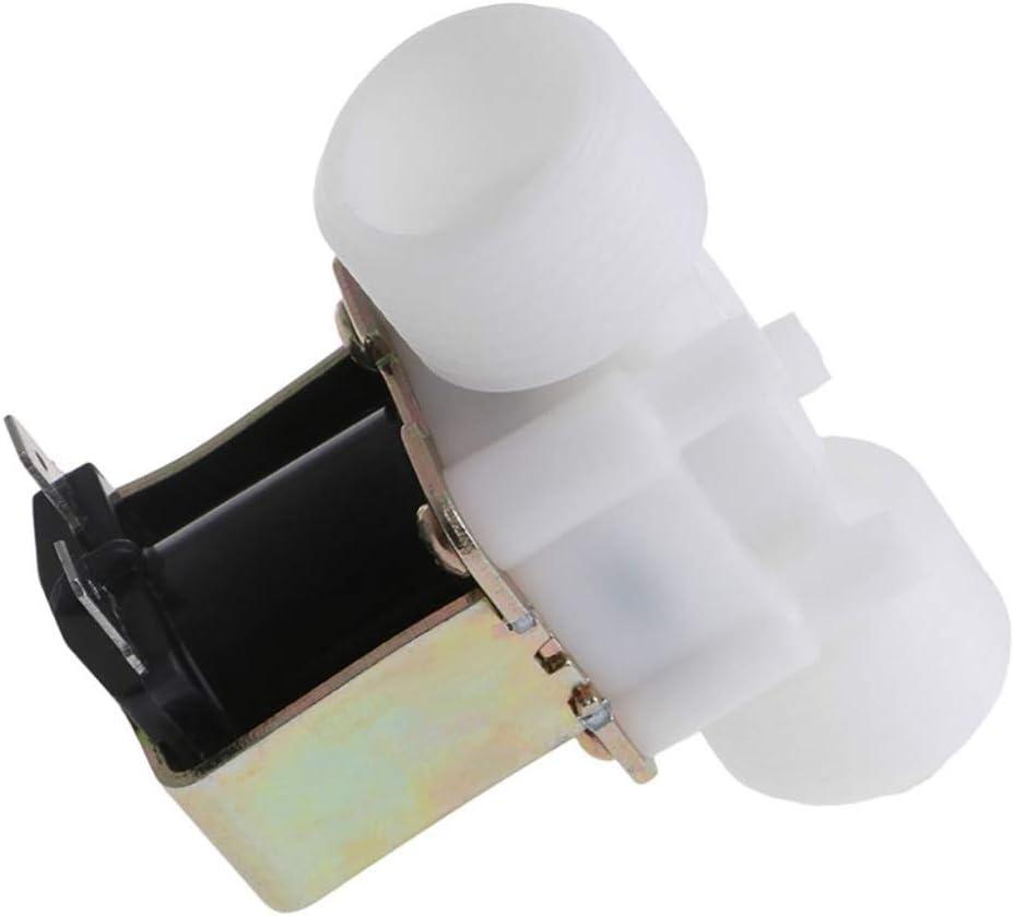 Fashion SHOP Valvula solenoide 3//4 Hardware DC 12V PP N//C V/álvula electromagn/ética el/éctrica del Agua de Control de desv/ío de Dispositivos Solenoide