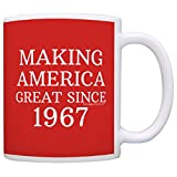 50th Birthday Gifts For All Making America Great Since 1967 Republican Mug Republican Gifts Coffee Mug Tea Cup Red