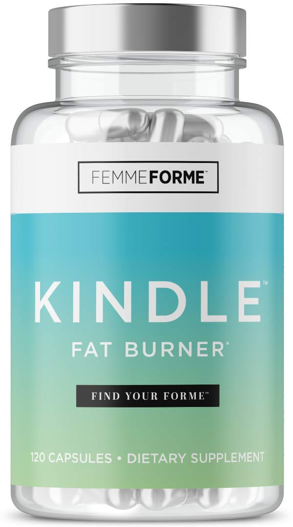 Femme Forme KINDLE Fat Burner for Women: Top Rated Diet Pills and Weight Loss for Women Supplement, Formulated with Green Tea Extract (EGCG) to Boost Metabolism and Burn Body Fat, 120 Capsules by Femme Forme