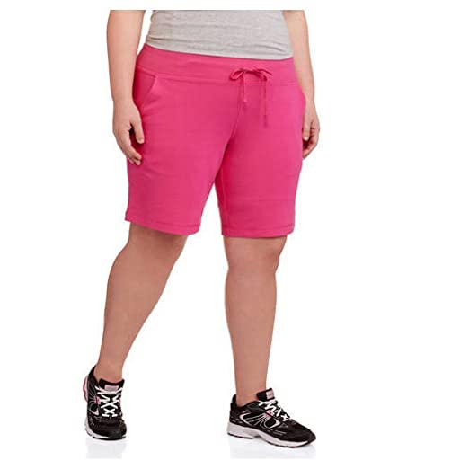 91f90a92736 Image Unavailable. Image not available for. Color  Danskin Womens  Essentials Bermuda Short ...