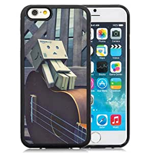 NEW DIY Unique Designed iPhone 6 4.7 Inch TPU Phone Case For Box Man Lying On A Guitar Phone Case Cover