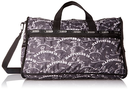 LeSportsac Large Weekender Bag, Happiness Allover, One Size