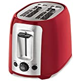 : BLACK+DECKER 2-Slice Toaster, Red, TR1278RM